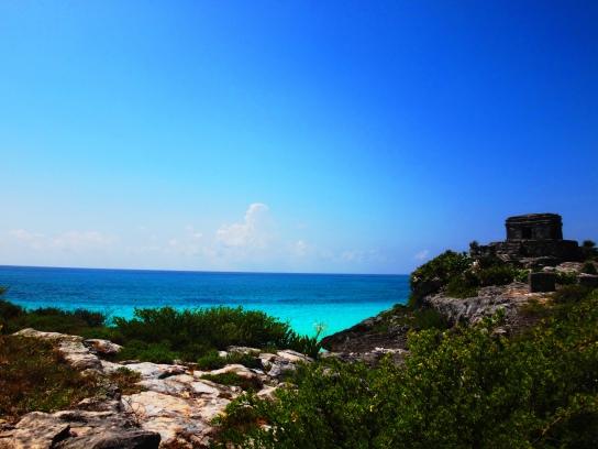 spectacular view-Tulum Ruins