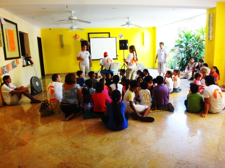 VBS kids- a group
