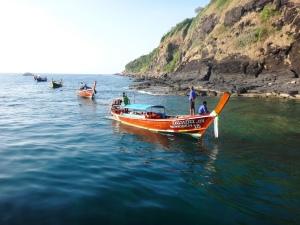Mik - boats in Phuket 2