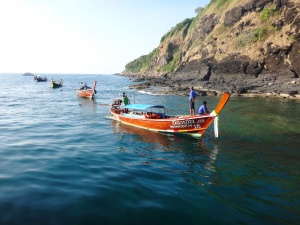 Mik - boats in Phuket 2